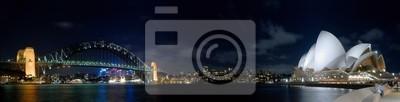 Сидней Night Panorama