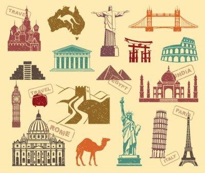Картина Символы путешествий