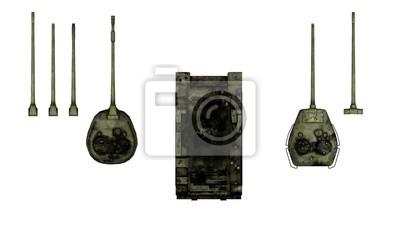 Картина Т-54