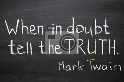 говорить правду