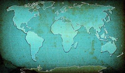 текстурированных карту слово