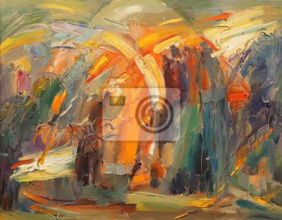 Картина Искусство абстракции