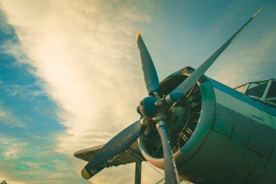 Картина Кабина старого самолета. Заброшенные самолеты