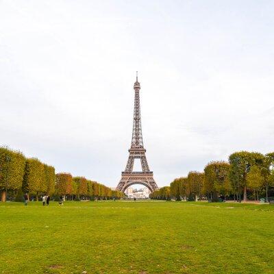 Картина Эйфелева башня в Париже, Франция