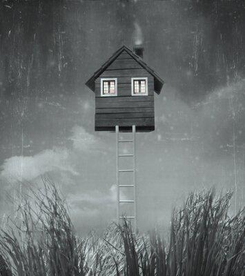Картина Дом летающих