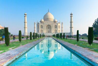 Картина Вид утром Тадж-Махал памятник