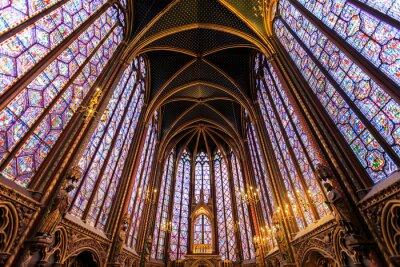 Картина Сент-Шапель в Париже