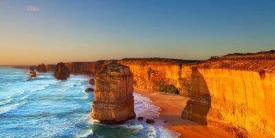 Картина Двенадцать апостолов, Большая Океанская дорога, Австралия