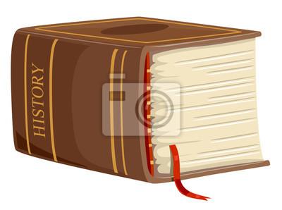 Иллюстрация толстой книги