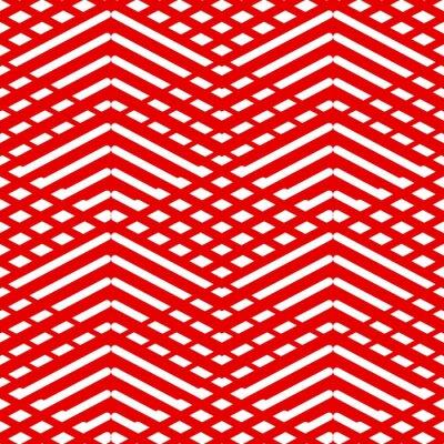 Картина Плитка красный и белый узор вектор фон или обои