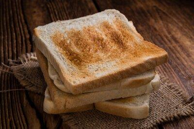 Картина Поджаренный тост хлеб