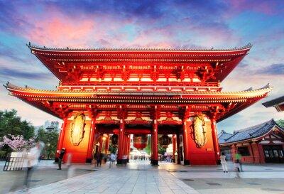 Картина Токио - Япония, Храм Асакуса