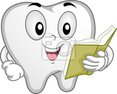 Иллюстрация зуба талисмана