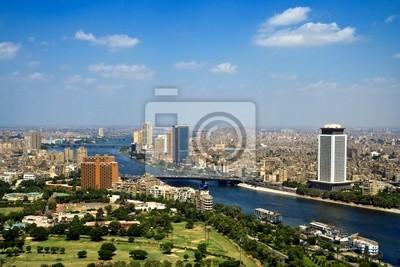 К началу Каире телебашня, Панорама - Египет