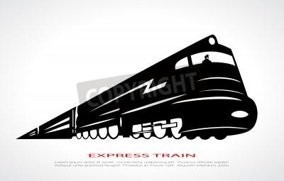 Картина Поезд значок