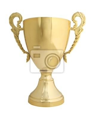 трофей на белом с пути