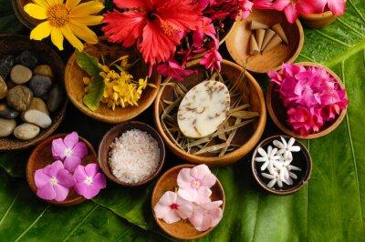 Картина Тропический цветок Спа набор