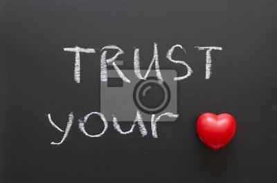 доверять своему сердцу