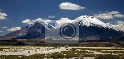 два вулканы панорама