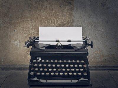 Картина пишущая машинка