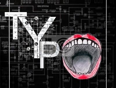 Картина Typographie