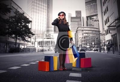 Картина Городская жизнь