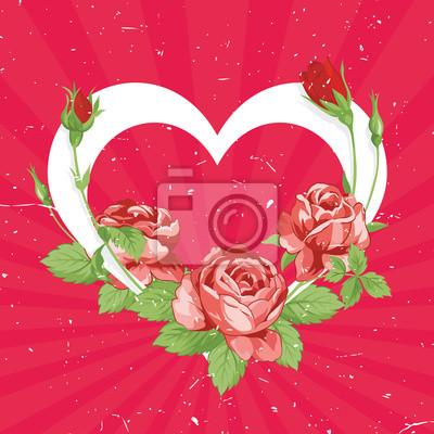 День святого Валентина Старинные карты