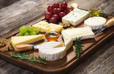 Картина Различные типы сыров