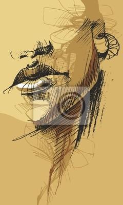 Картина vector_03-лицо