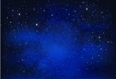 Картина Вектор фон ночь звездное небо.