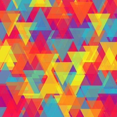 Картина Вектор абстрактного фона треугольника