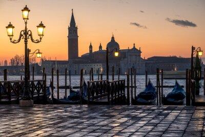 Картина Венеция, альба е Кьеза ди С. Джорджио
