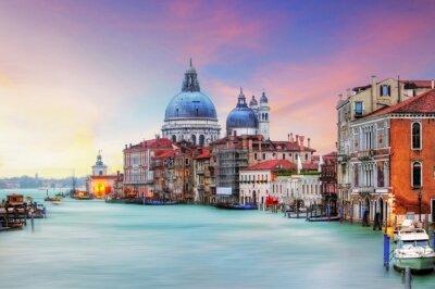 Картина Венеция - Гранд-канал и базилика Санта-Мария-делла-Салюте