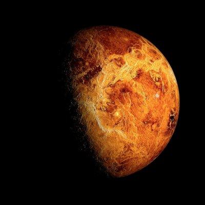 Картина Венера Элементы этого изображения, предоставленную NASA