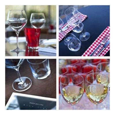 Картина Verre, Verrerie, вин, стол, Couvert, бар, пивной бар, пещера