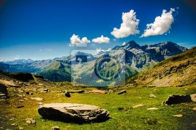 Vista, ди Альта Монтанья кон Nuvole sullo Sfondo