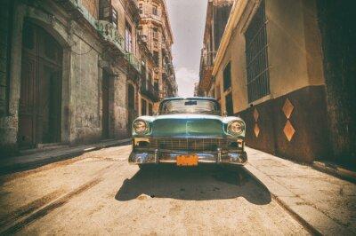 Картина Урожай автомобиль на стоянке на улице Гаванской