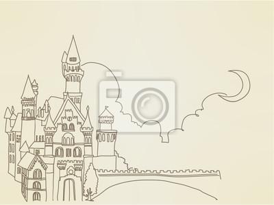 Урожай замок - векторный файл EPS10