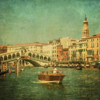 Картина Урожай изображение Гранд-канал, Венеция