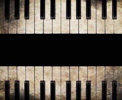 Картина старинные пианино, изолированные