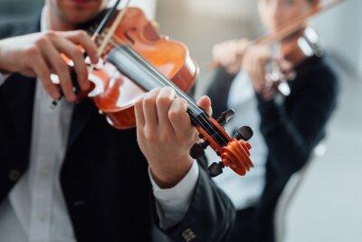 Картина Скрипка производительность дуэт