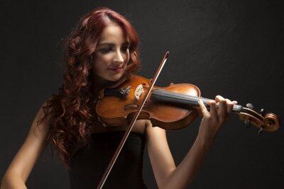 Картина Violinst девушку