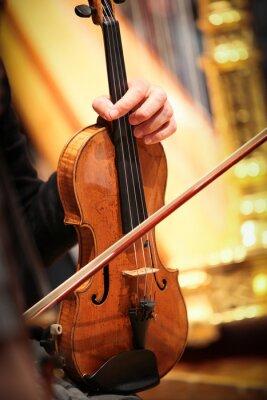 Картина Violon инструмент вентиляционное отверстие Musique Classique Symphonique Корд