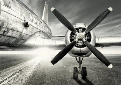 Картина ожидая последнего взлета