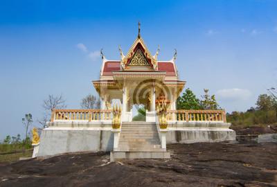 Ват на горе в Dansai, Лее, Таиланд