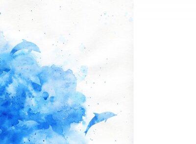 Картина акварель фон