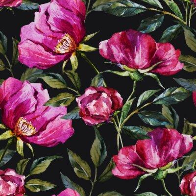 Картина Акварель цветочный узор