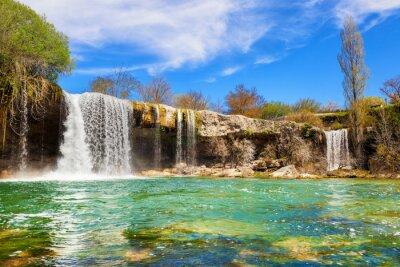 Картина Водопады реки Jerea в Педроса-де-Tobalina, в провинции Бургос, Испания