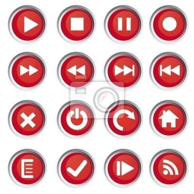 Веб-иконы, кнопки
