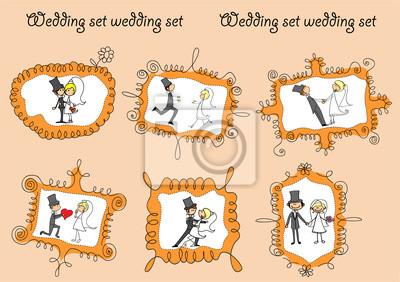 Свадебные фотографии в каракули кадров